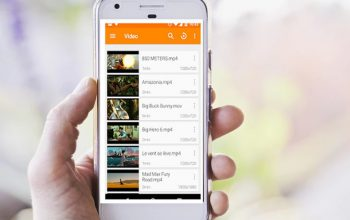 how to create a complete video player for the android course