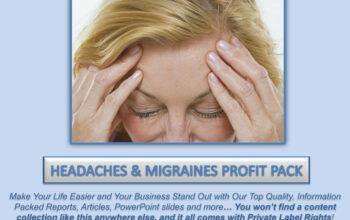 Headaches & Migraines PLR Profit Pac