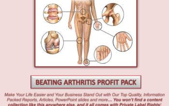 Beating Arthritis PLR Profit Pack