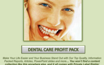Dental Care PLR Profit Pack