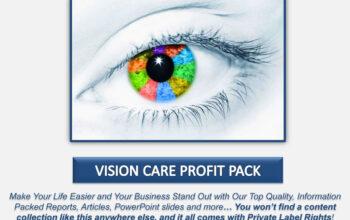 Vision Care PLR Profit Pack