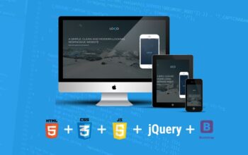 Bootstrap Course Using HTML5, CSS3, JS And Bootstrap