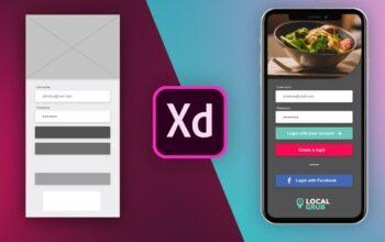 UX UI Process & Adobe XD Course